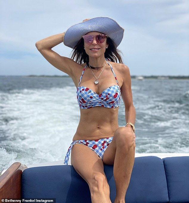 She loves her bikini body:The star shared the new on Instagram: 'Big delicious news. I LOVE a delicious thin and crispy pizza — which is why I'm so excited to be launching Skinnygirl Pizza worldwide!' She often poses in swimsuits