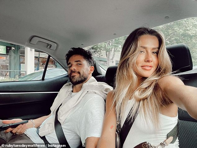 Loved up: It's not known exactly when she and Shannan began dating, but according to her Instagram she began posting photos with him in May