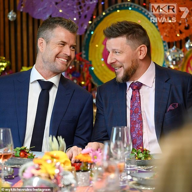 Gone: One person who won't be returning for MKR Season 12 is original judge Pete Evans (left), who stepped down from his $ 800,000 a year job at Seven several last year