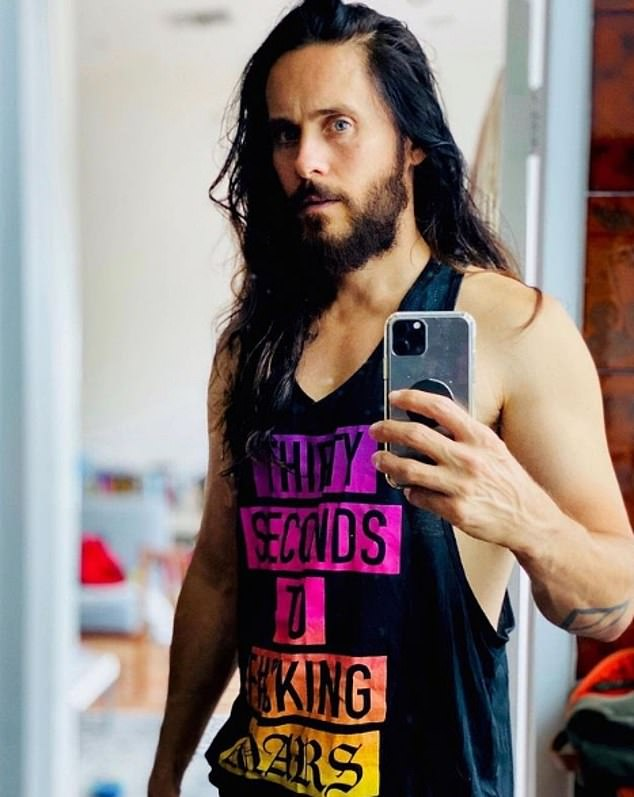 Busy man: Jared, also a rock singer with the band 30 Seconds to Mars, has several other projects in various stages of development as well.