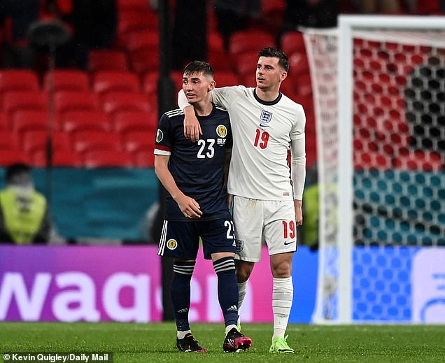 It comes as it emerged footballers Mason Mount and Ben Chilwell will have to self-isolate until next Monday after chatting in the tunnel at Wembley Stadium for 15 minutes with Covid-carrying Scotland player Billy Gilmour following their Euro 2020 match four days ago