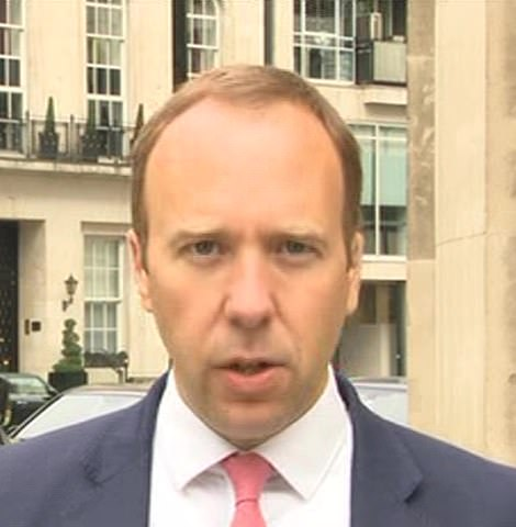 Matt Hancock today admitted England's Covid outbreak is 'slowing' for the first time since the Indian variant took off
