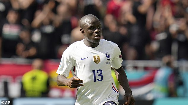 France's indomitable midfielder N'Golo Kante is pivotal to Didier Deschamps' world champions