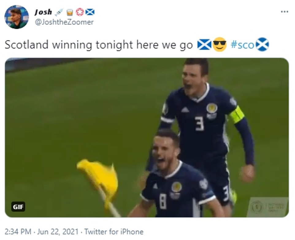 'Scotland winning tonight': Some fans are confident history will be made as Scotland prepare to face off against Croatia