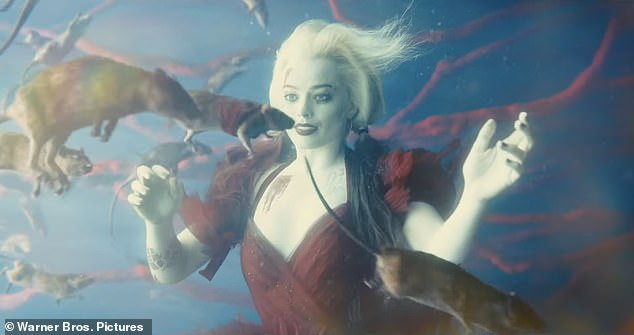She's back! Margot Robbie is reprising her role at Harley Quinn
