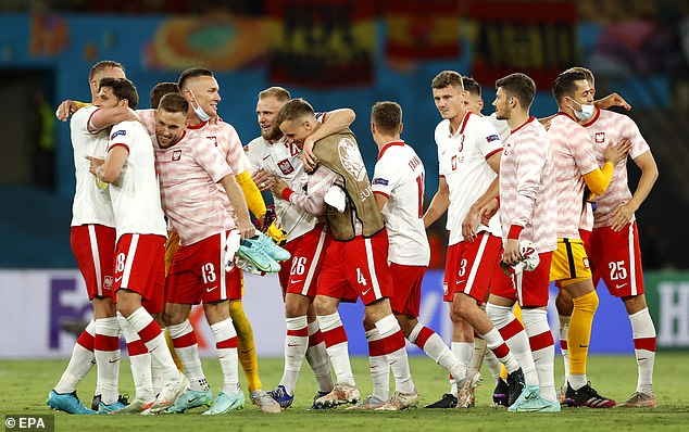 With just one point in Group E, the Poles have to win if they are to reach the knockout stage