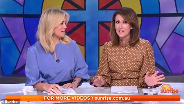 On the attack: The feud between Samantha and Natalie escalated on Monday, with former anchor Sam firing off a brutal tweet describing her successor as desperate for the top job