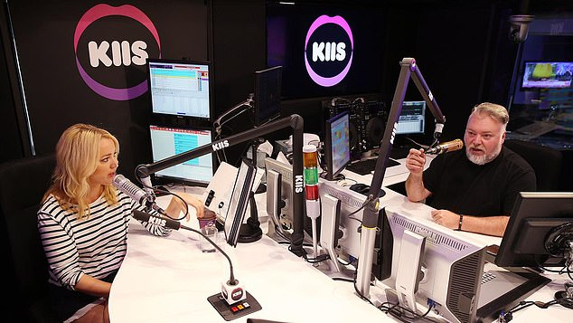 Forget the time?The Hills star was on hold for thirty minutes past the scheduled time so Kyle Sandilands and Jackie 'O' Henderson could discuss cinnamon donuts on-air