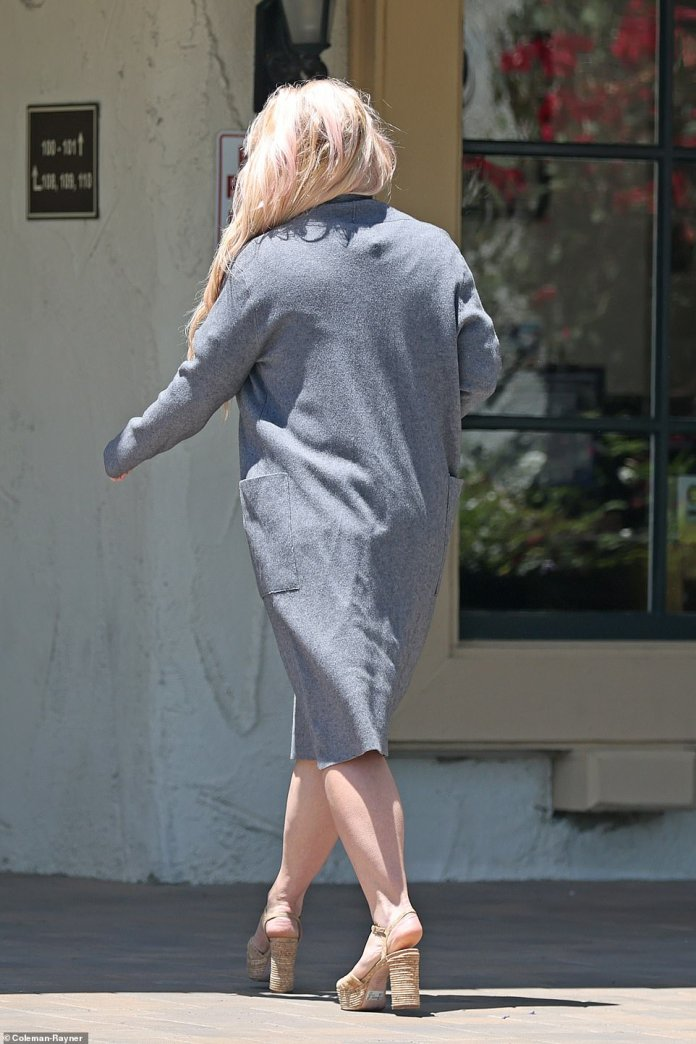 First time:Wednesday will be the first time Britney, now 39, addresses the court