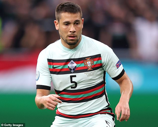 Left backRaphael Guerreiro scored Portugal's first goal of Euro 2020 in 3-0 win over Hungary