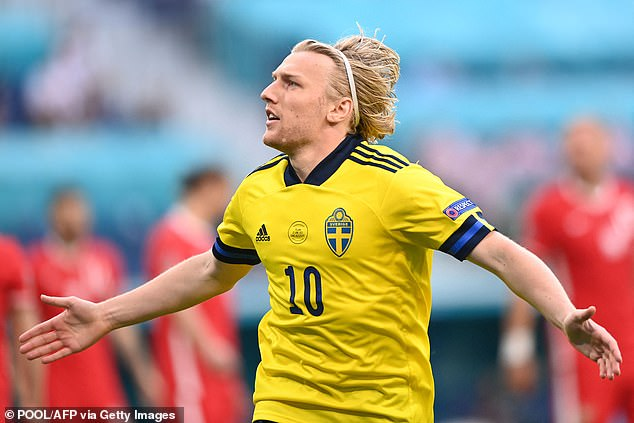 Emil Forsberg scored twice to put them 2-0 ahead before the game was turned on its head