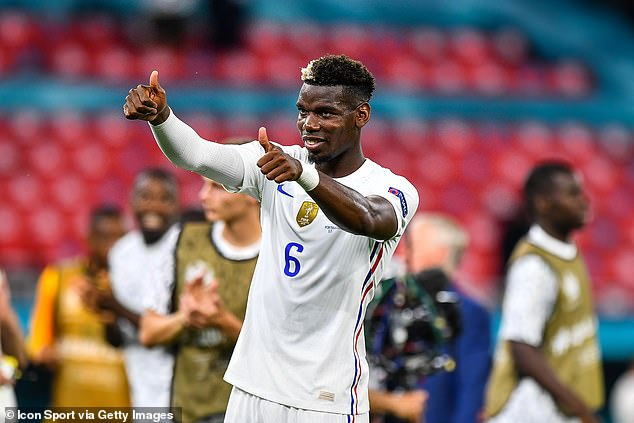 Paul Pogba was one of France's star men once against as they held Portugal 2-2 on Wednesday