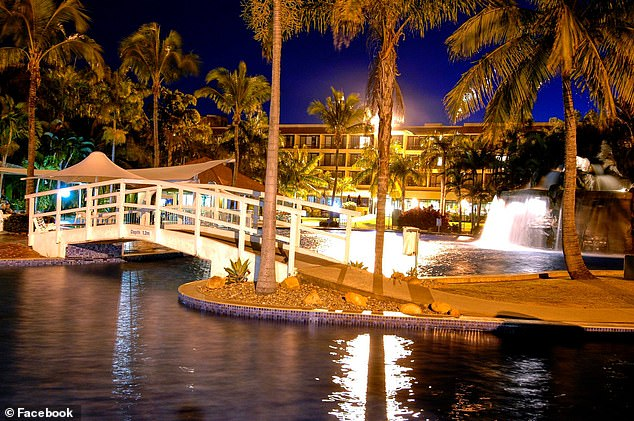 The tropical resort used to boast holiday apartments, a golf course and the largest outdoor swimming pool in the southern hemisphere, complete with a waterfall