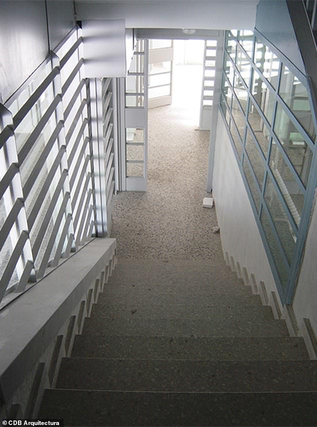 The prison houses up to 1,500 inmates