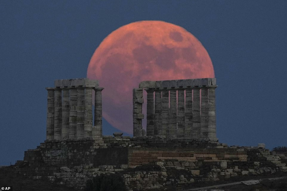 The final supermoon of 2021 lit up the sky last night, appearing up to 30 per cent brighter and 14 per cent larger than a normal moon, according to astronomers