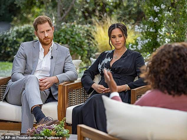 Maier wrote extensively about Meghan and Harry in his column and said that their claims of racism in the Royal Family were true