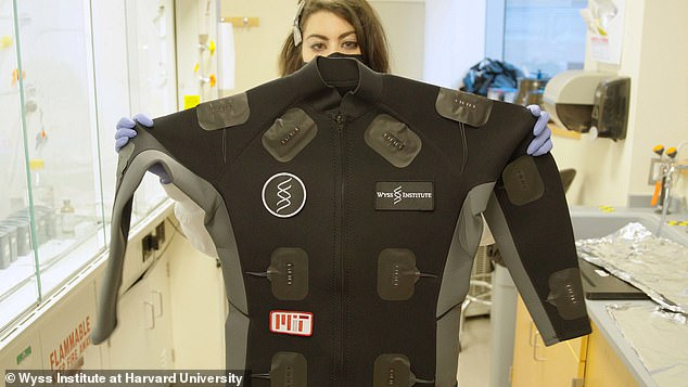 Researchers are working on ways to deploy this technology into larger garments worn by doctors and medical professionals that can detect when they have been exposed to a virus