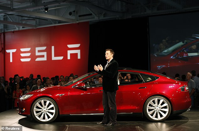 Elon Musk (pictured) is reportedly planning on making Tesla Supercharger stations available to electric vehicles from other automakers
