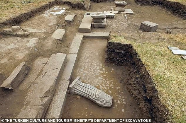 The city of Metropolis, where the statue was unearthed, is located in the Torbali region of Turkey's Izmir Province