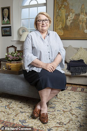 'I found myself having to hold my eyes wide open — I just felt so self-conscious,' says Rosemary