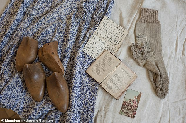 The items safeguarded by Judith and then Helen, were called 'remarkable' by the Manchester Jewish Museum's curator Alex Cropper, who explained it was rare to find objects that had belonged to Holocaust survivors