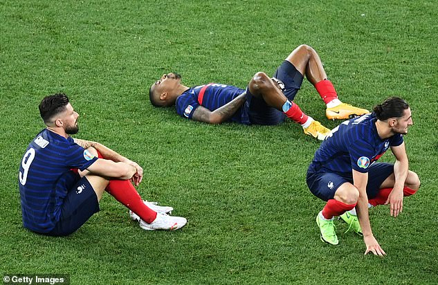 The France legend said Didier Deschamps' team deserved to lose against Switzerland