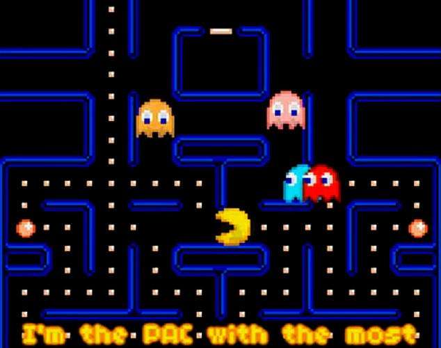 Comparison: Study co-author Professor Susan Scott, of the Australian National University, said: 'Each collision isn't just the coming together of two massive and dense objects. It's really like Pac-Man (pictured), with a black hole swallowing its companion neutron star whole'