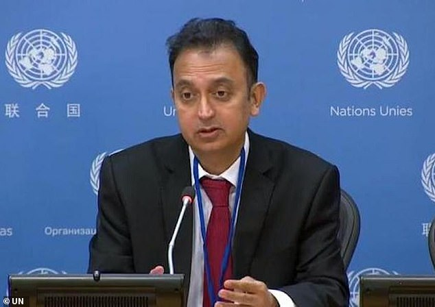 Javaid Rehman (pictured), the UN investigator on human rights, said it is 'very important' to investigate what happened in 1988 now that Raisi, 60, has become the Iranian president
