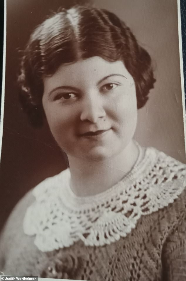 Helen pictured aged 30 after the war. She moved to Manchester where she had family, and rebuilt her life with Henry
