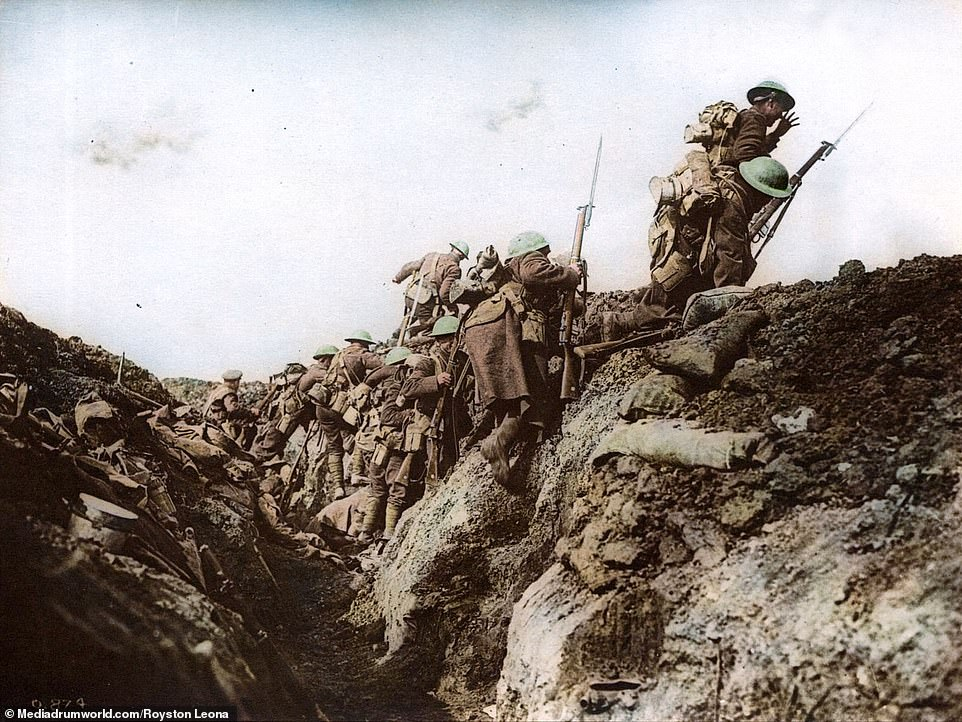 On 1 July 1916 tens of thousands of British, French and Commonwealth troops went 'over the top', pouring out of their trenches and running towards the German lines, confident the enemy had been destroyed by artillery. Thousands were mowed down by German machine gunners, who had hunkered down and survived the artillery onslaught.By the end of the first day, British forces had suffered 57,470 casualties, of whom 19,240 were killed - the bloodiest day in the history of the British Army