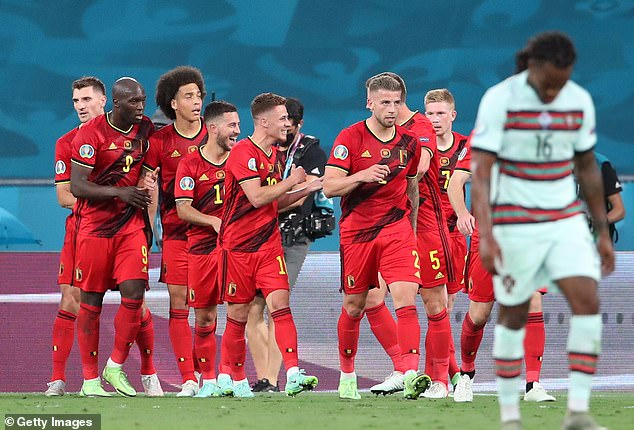 Belgium battled past Portugal with a narrow 1-0 win sending them through to the next round