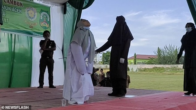 Aceh is the only province in Indonesia with the autonomy to be able to enforce Sharia law and lashings