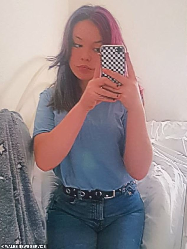 Ffion Smith (pictured), 13, and her boyfriend Harry Bowra, 12, are believed to be together ¿ and their families are desperate for information
