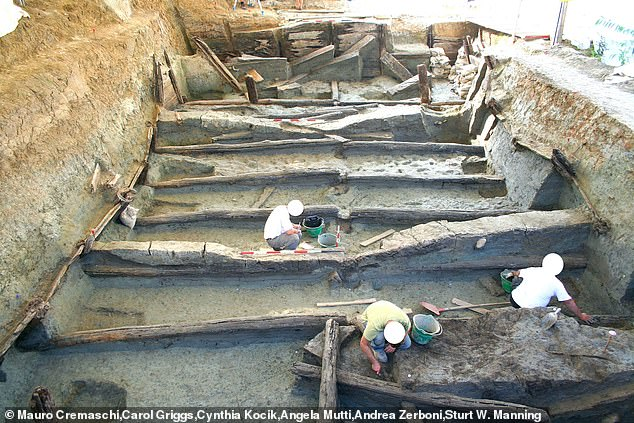 A remarkable wooden structure discovered in northern Italy was once an 'infinity pool' used in water rituals some 3,000 years ago during the Bronze Age