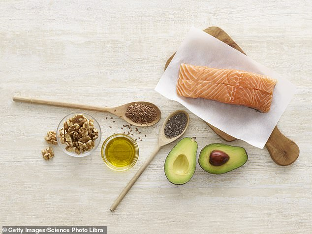 Omega 3 is found in foods such as salmon, sardines and nuts - and researchers found those with persistent headaches felt less pain if they a diet high in the fatty acid