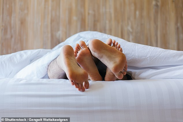 Data also revealed searches in excess of 5,000 were made for 'is premature ejaculation curable' every month since the start of the pandemic in May 2020. Stock image