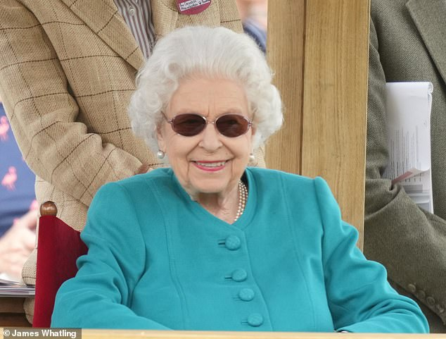 The Queen returned from her royal visit to Scotland to attend the horse show, which is thought to be one of her favourite events of the year