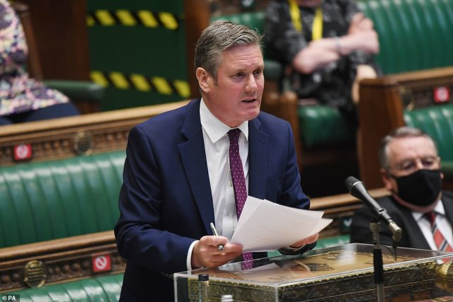 Supporters of the deputy leader are said to have been canvassing Labour MPs and trade unions to see if they would support a bid to oust Sir Keir