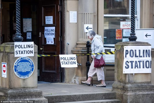 The polls are due to close this evening with the result expected to be announced in the early hours of Friday morning