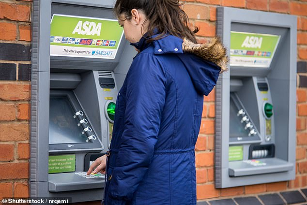 Plans outlined yesterday by the Treasury said people should not have to travel beyond a 'reasonable distance' to take out or deposit cash free of charge