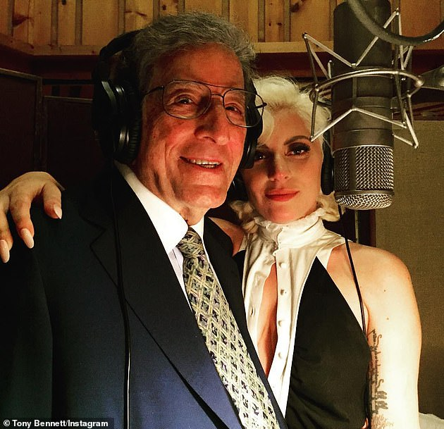 Collaborators: Gaga and Bennett are also rumored to have recorded an MTV Unplugged as well as the follow-up to their album Cheek to Cheek (pictured in 2015)