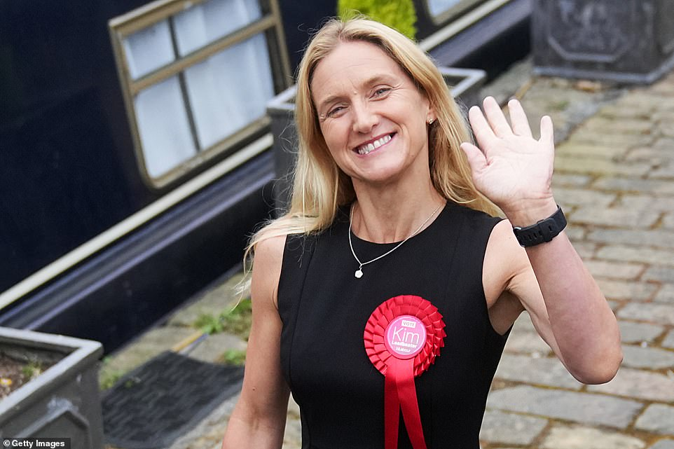 Earlier, she said in her victory speech: 'There's way too many people to mention by name, but I do want to refer to my family and my friends, who, without them, I could not have got through the last five years, never mind the last five weeks'