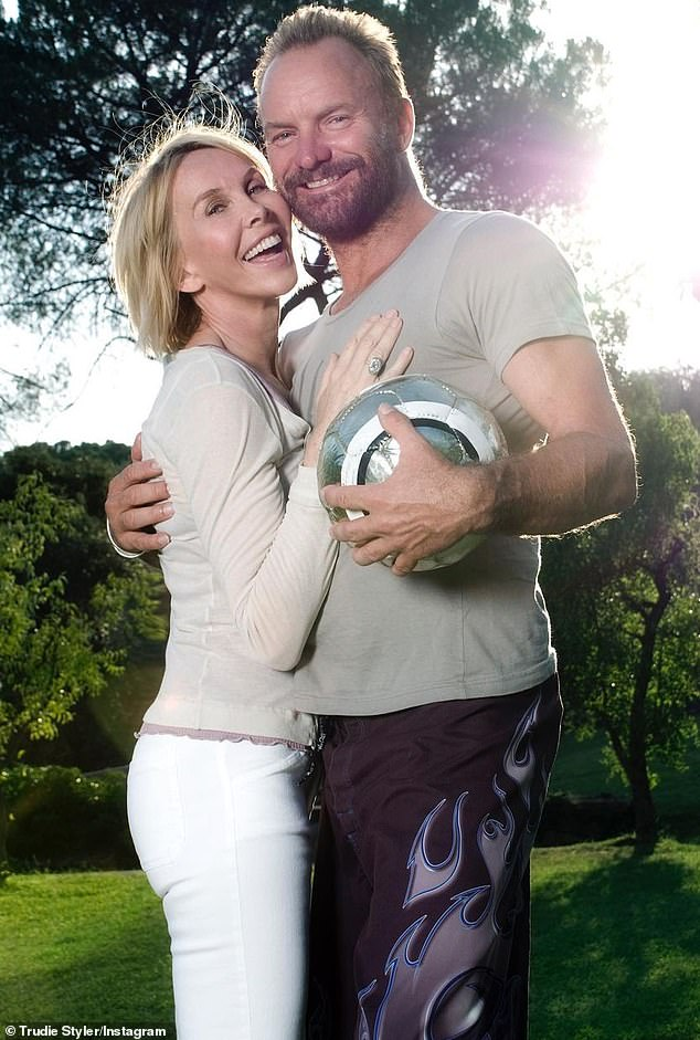 Come on England! On Thursday night, Sting and Trudie Styler took to Instagram where they joked about with a football as they revealed their hopes for the Euro 2020 final