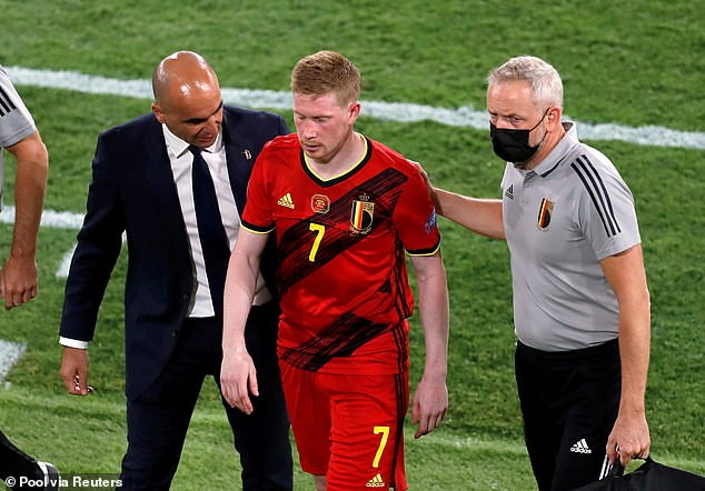 Kevin De Bruyne will be a massive miss for Belgium if he misses the Italy game
