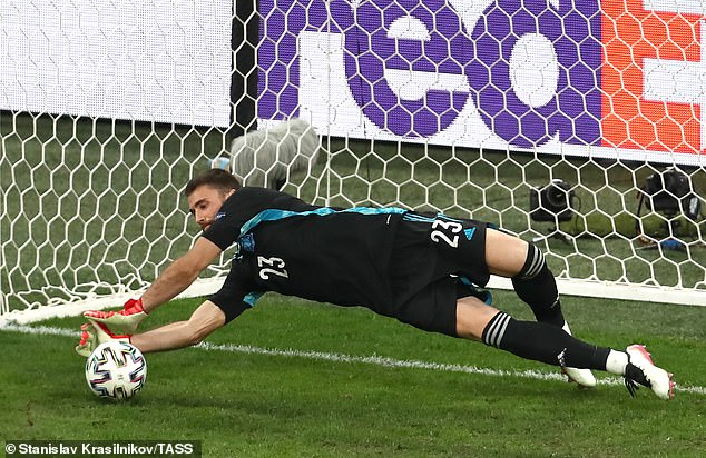 Simon made two saves in the shootout to help Luis Enrique's Spain progress to the semi-final