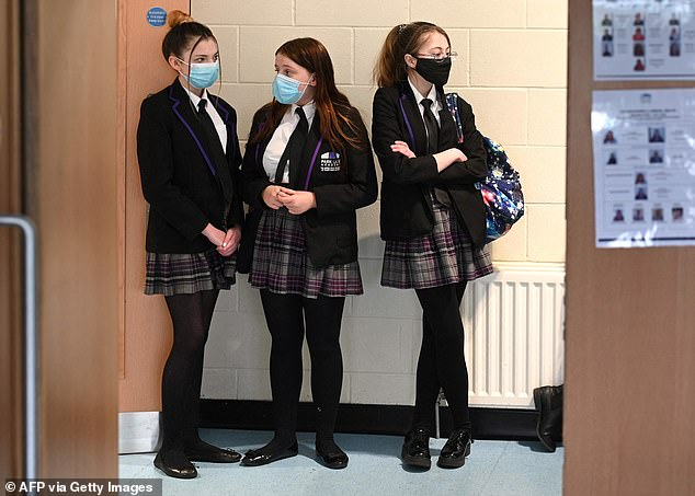 We have disrupted children's lives and harmed their development and education, writes Dr Ellie Cannon (pictured: students at Park Lane Academy in Halifax in March this year)
