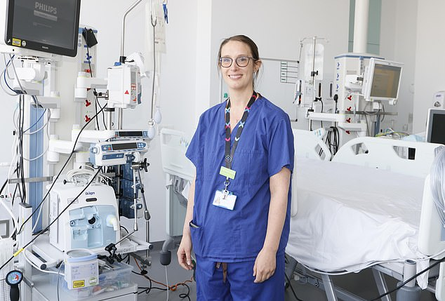 Dr Alice Sisson (pictured above), director of the hospital¿s adult intensive care unit (ICU), said: 'To get better you need all your senses nurtured'