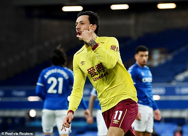 Meanwhile, Burnley winger Dwight McNeil (above) is said to be a target for Aston Villa