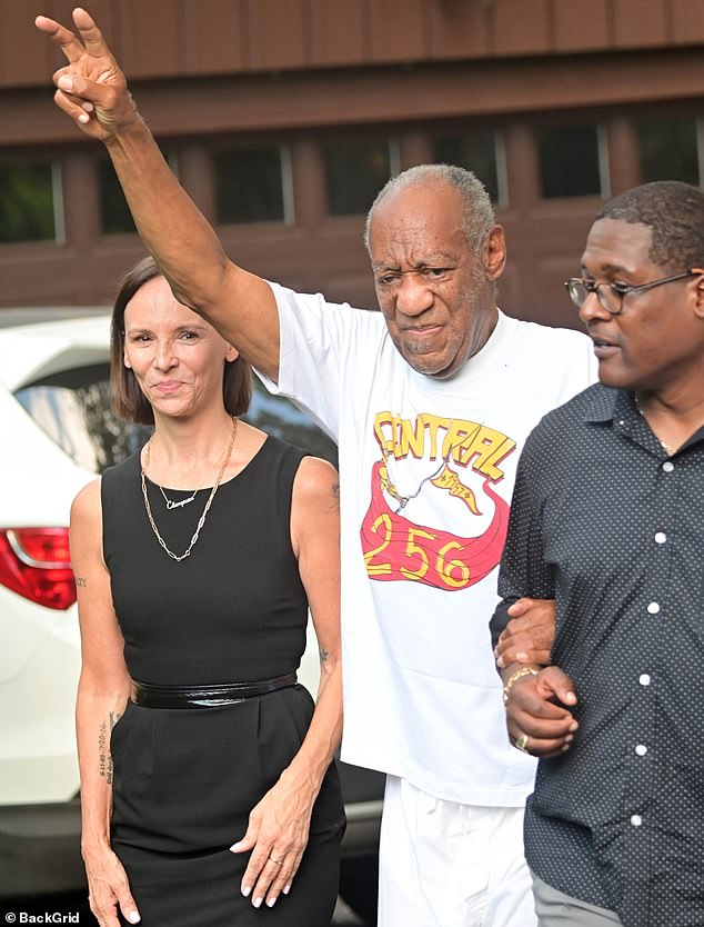 Cosby, 83, was released from prison in Pennsylvania on Wednesday, two years into his 10 year sentence after having his sexual assault conviction overturned