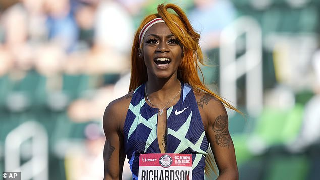 Officials on Tuesday announced that Richardson, 21, would not be selected to run in the 4x100-meter relay in Tokyo, after she was previously banned from the 100-meter dash over her marijuana use